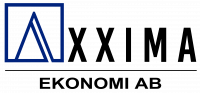 Axxima ekonomi Logotyp